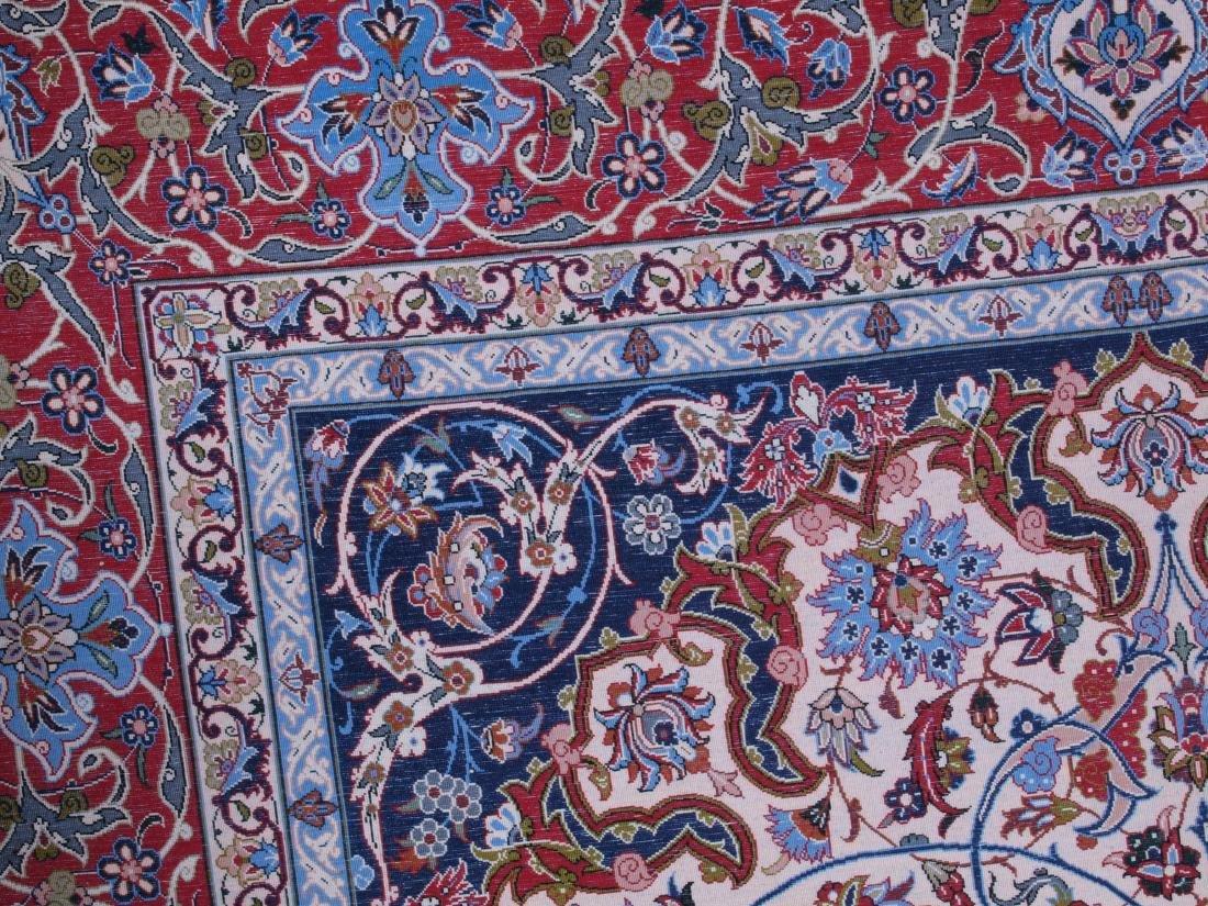 Isfahan Ghaffari Persian Rug 7.75 x 5.25 FT - 3