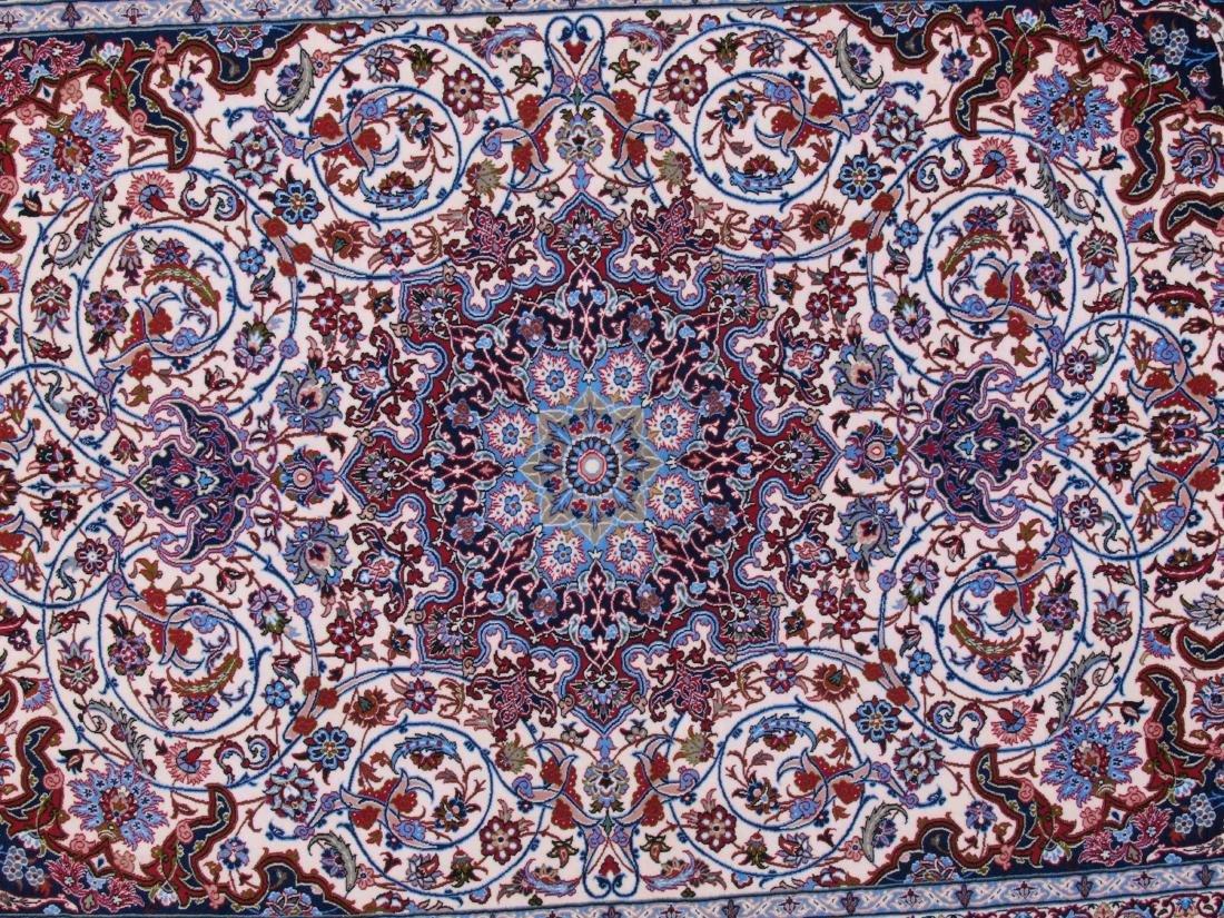 Isfahan Ghaffari Persian Rug 7.75 x 5.25 FT - 4