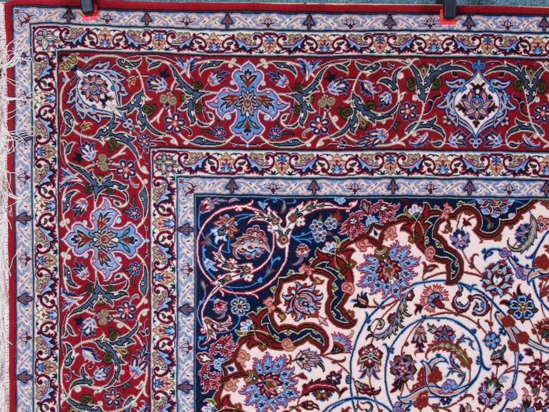 Isfahan Ghaffari Persian Rug 7.75 x 5.25 FT - 5