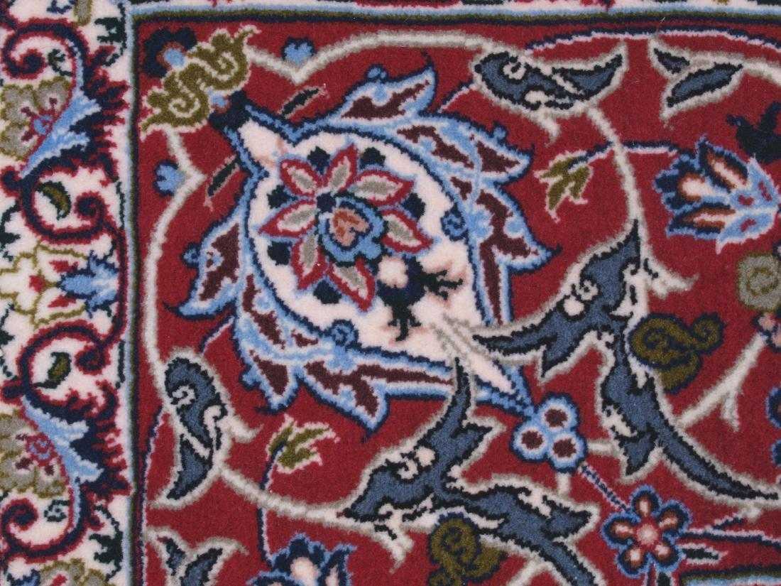 Isfahan Ghaffari Persian Rug 7.75 x 5.25 FT - 6