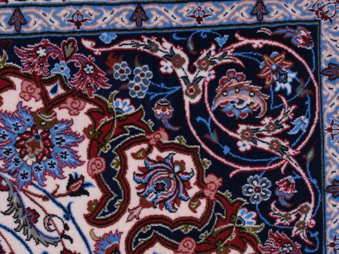 Isfahan Ghaffari Persian Rug 7.75 x 5.25 FT - 8