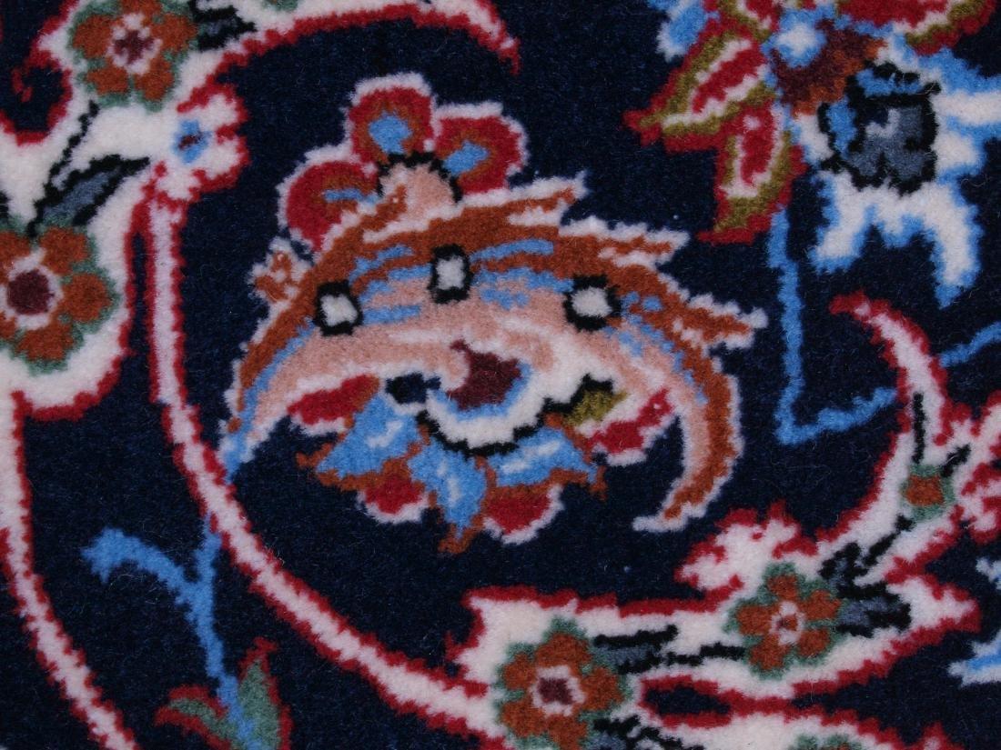 Isfahan Ghaffari Persian Rug 7.75 x 5.25 FT - 9