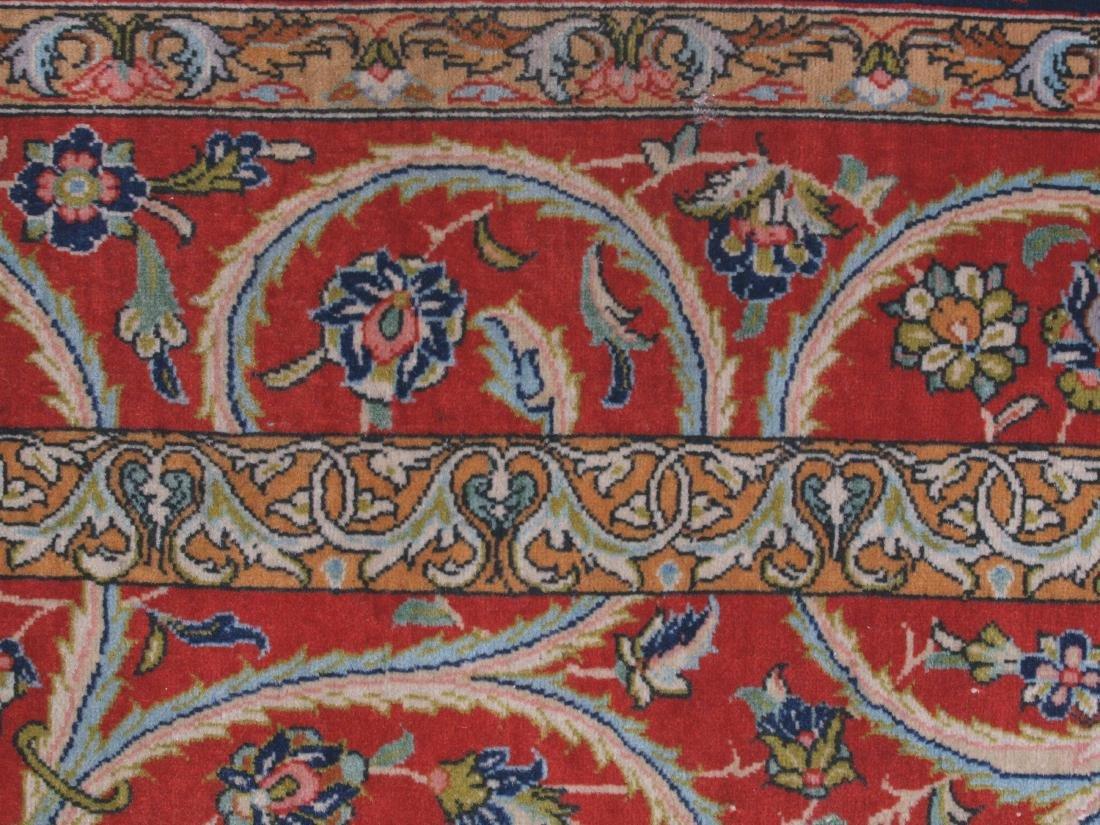Vintage Persian Qum Carpet 7.25 x 4.5 FT - 5