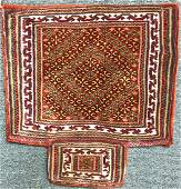Antique Iranian Saddle 2.25 x 2 FT