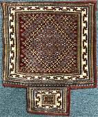 Antique Iranian Saddle 2 x 1.5 FT