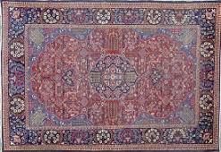 Antique Persian Kashan Carpet 6.25 by 4.25 FT