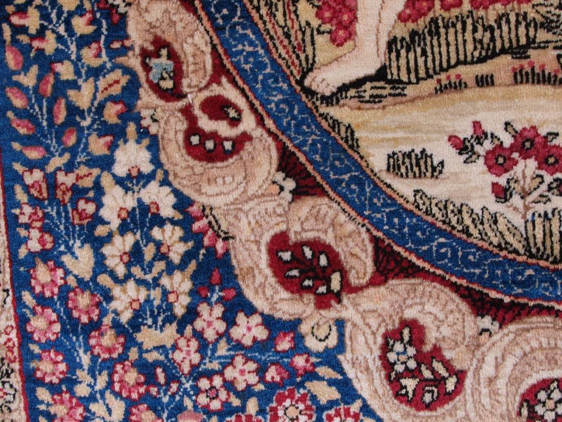 Rare Garden of Eden Carpet 7.5 x 4.25 FT - 4