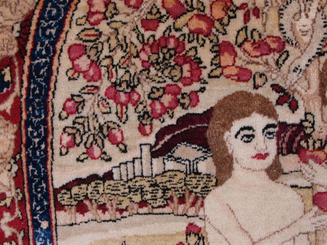 Rare Garden of Eden Carpet 7.5 x 4.25 FT - 6