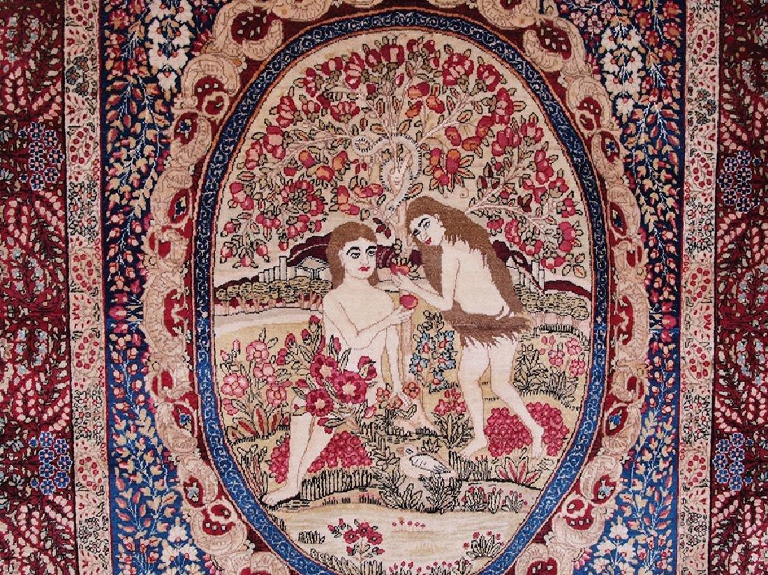 Rare Garden of Eden Carpet 7.5 x 4.25 FT - 9