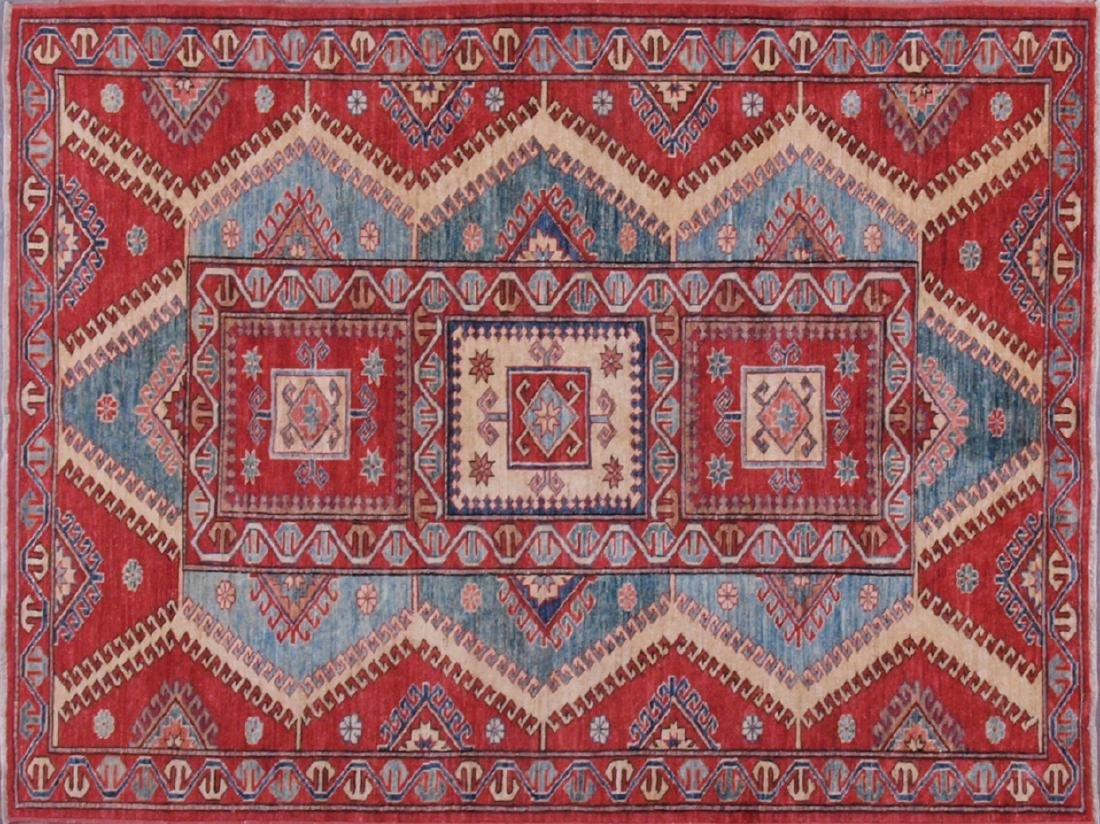 Shirvan Baft Carpet 6.25 x 4.5 FT