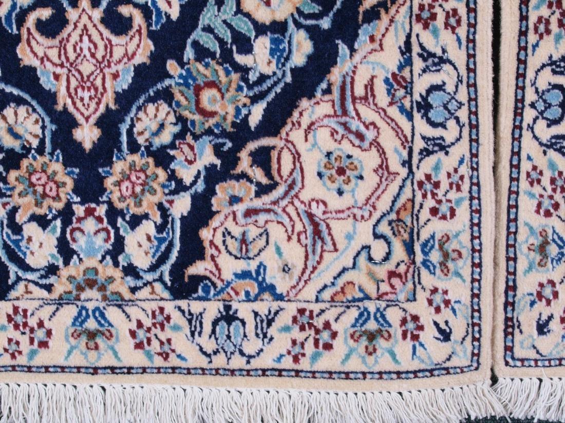 Pair of Nain 4 Strand Rugs 2.75 x 1.5 FT - 10