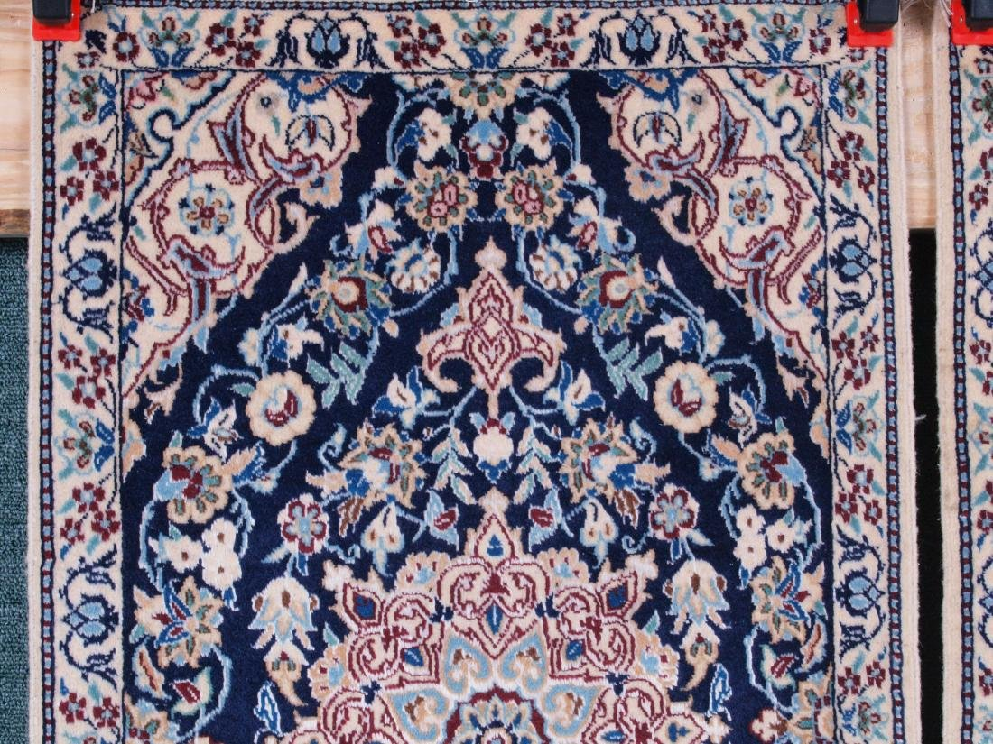 Pair of Nain 4 Strand Rugs 2.75 x 1.5 FT - 3