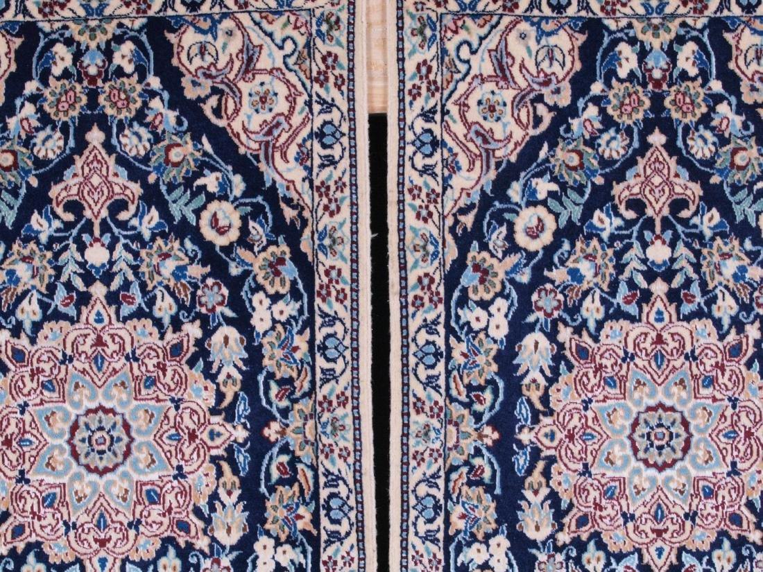Pair of Nain 4 Strand Rugs 2.75 x 1.5 FT - 4