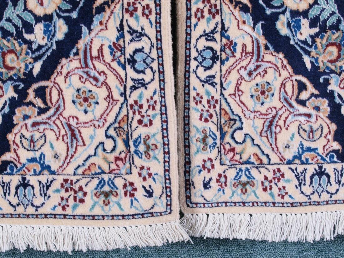 Pair of Nain 4 Strand Rugs 2.75 x 1.5 FT - 9