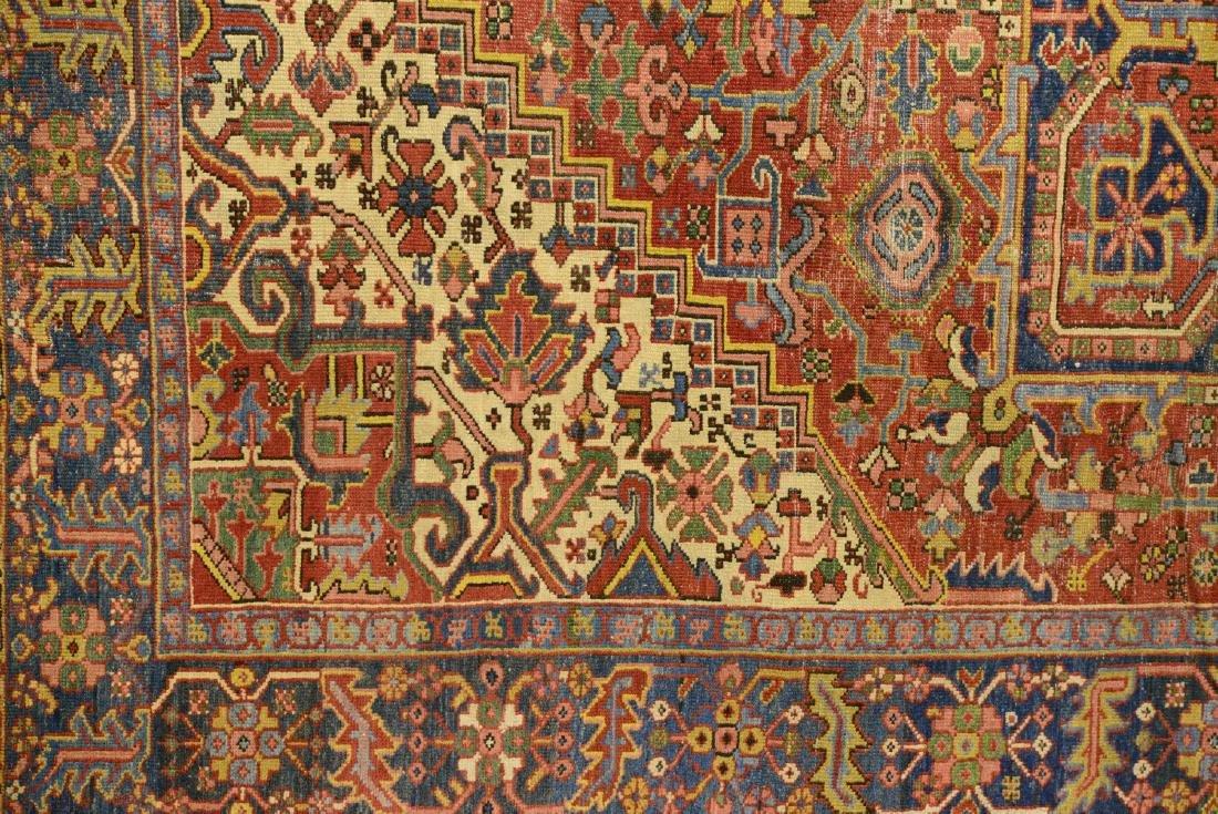 Original Antique Persian Heriz Carpet - 3