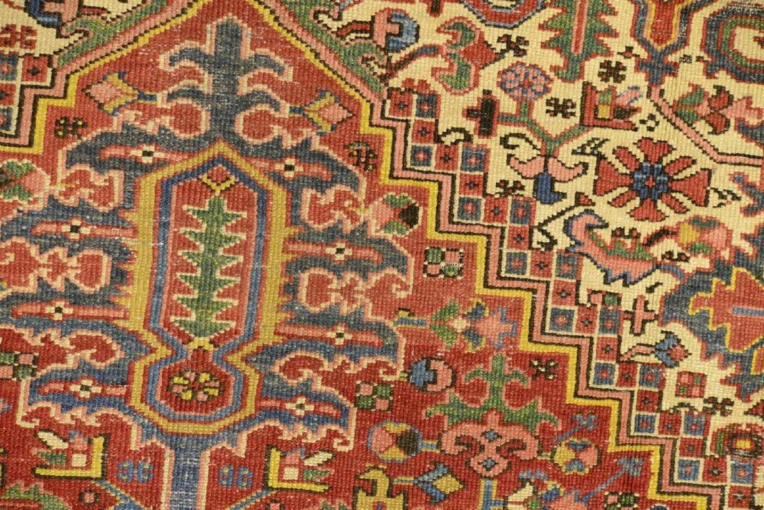 Original Antique Persian Heriz Carpet - 4