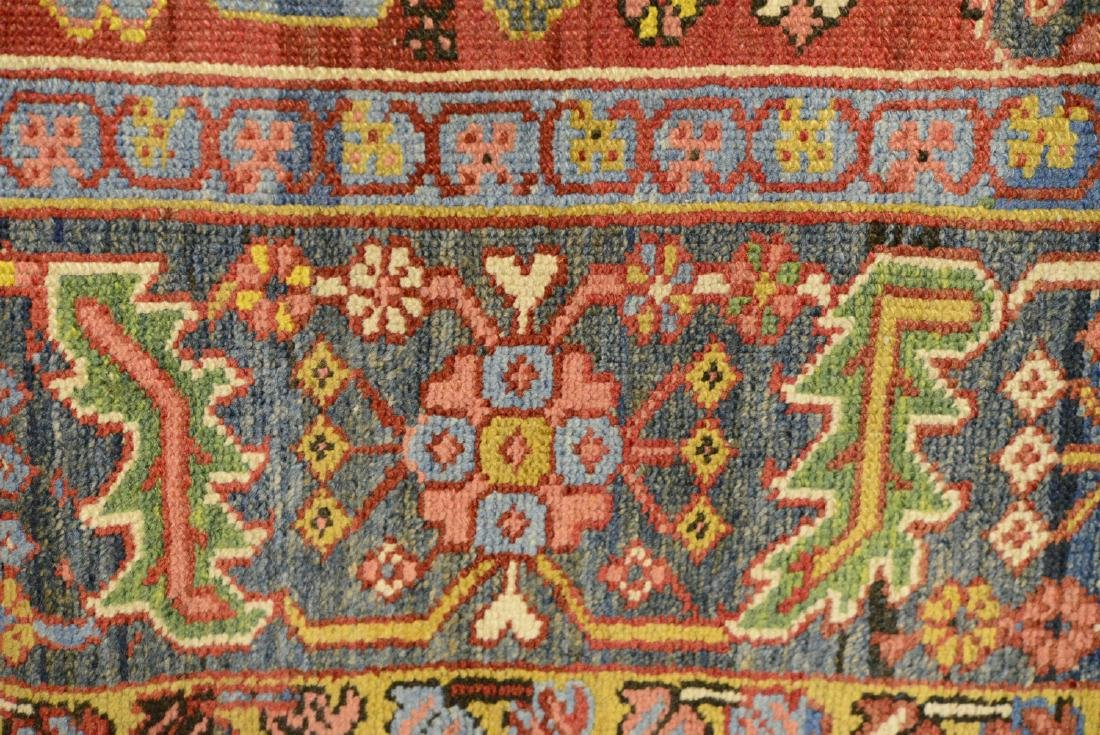 Original Antique Persian Heriz Carpet - 5
