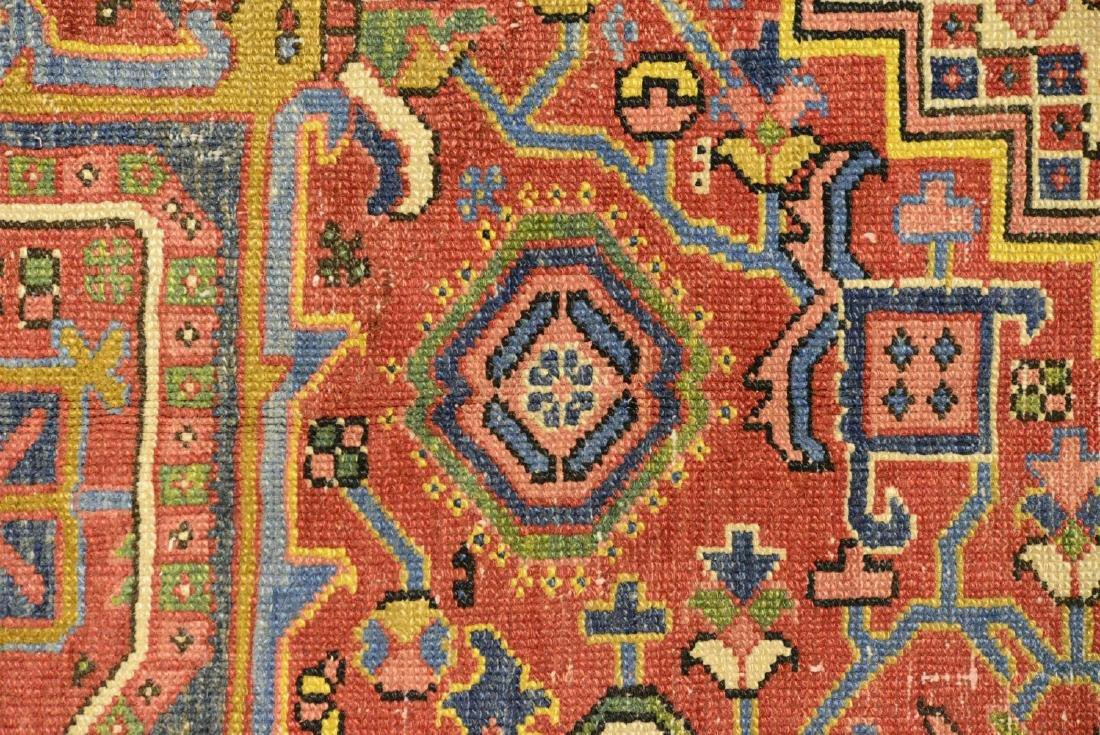 Original Antique Persian Heriz Carpet - 6