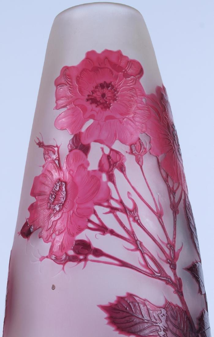 Vintage Galle Floral Vase - 10
