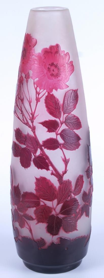 Vintage Galle Floral Vase