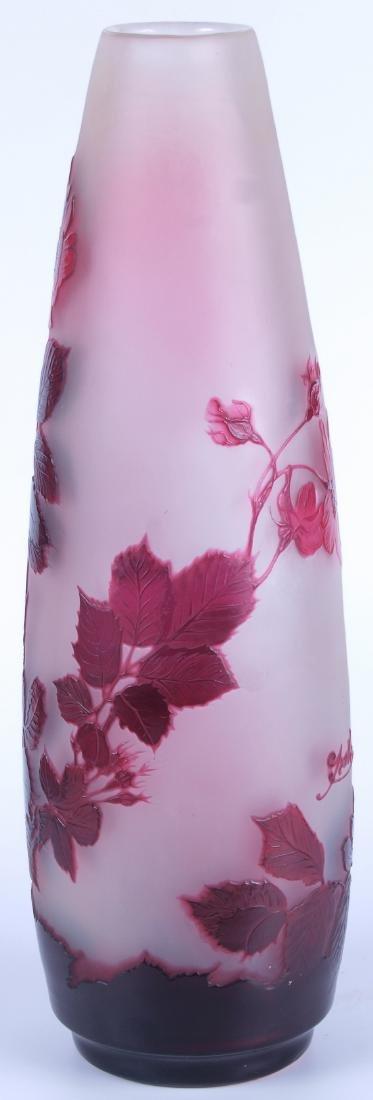 Vintage Galle Floral Vase - 2