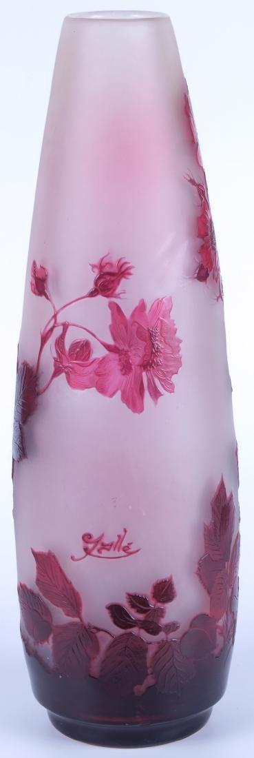 Vintage Galle Floral Vase - 3