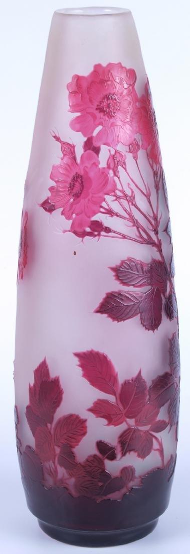 Vintage Galle Floral Vase - 4