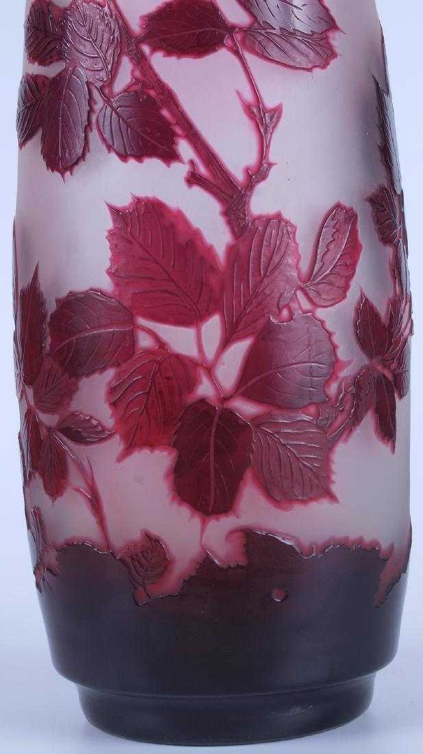 Vintage Galle Floral Vase - 5
