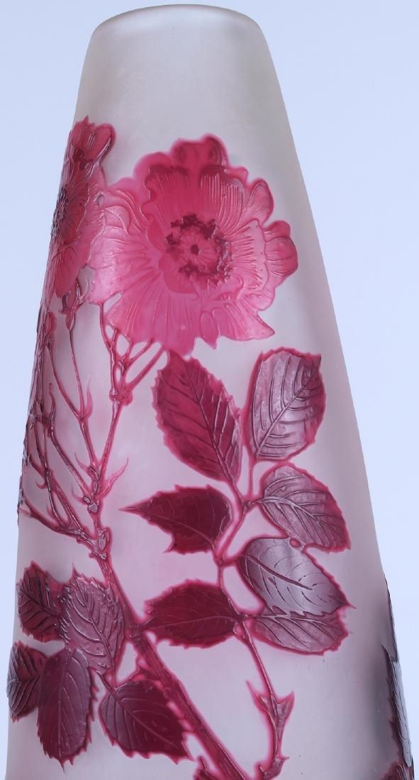 Vintage Galle Floral Vase - 6
