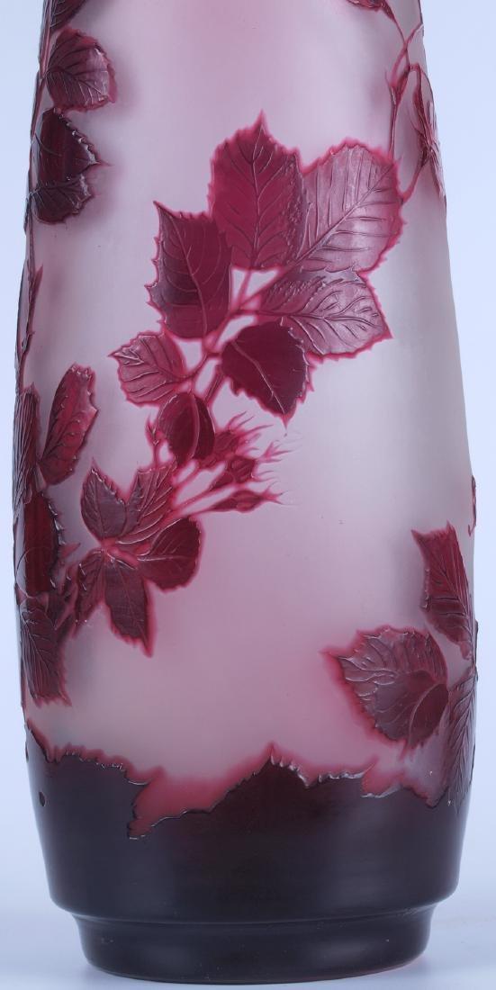 Vintage Galle Floral Vase - 7