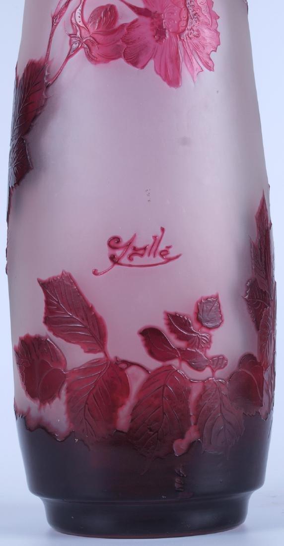 Vintage Galle Floral Vase - 8