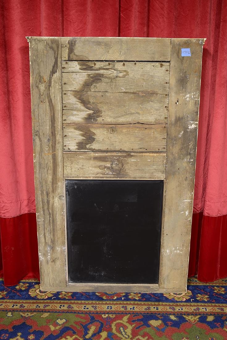 French Antique Trumeau with Mirror - 3