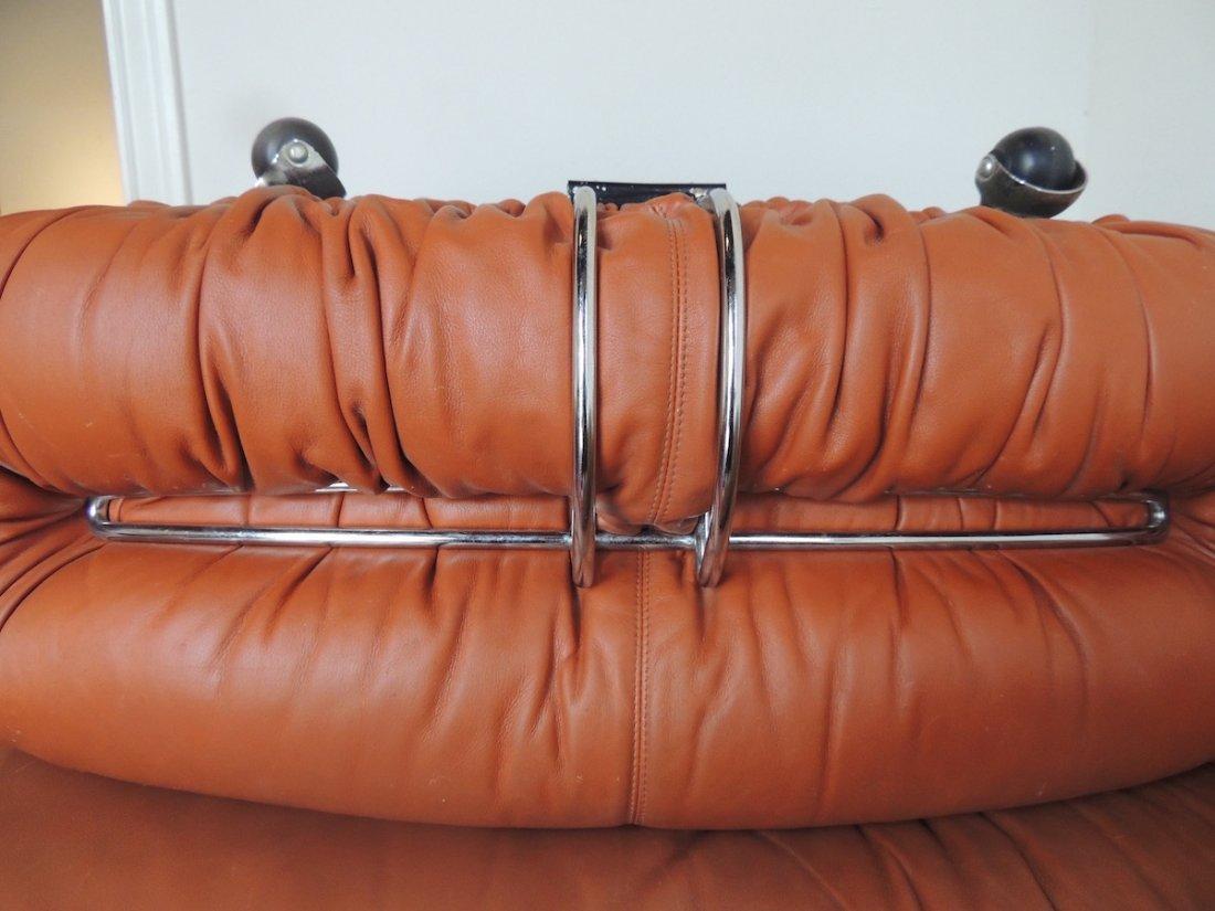 Afra & Tobia Scarpa Soriana lounge Chair & Ottoman - 10