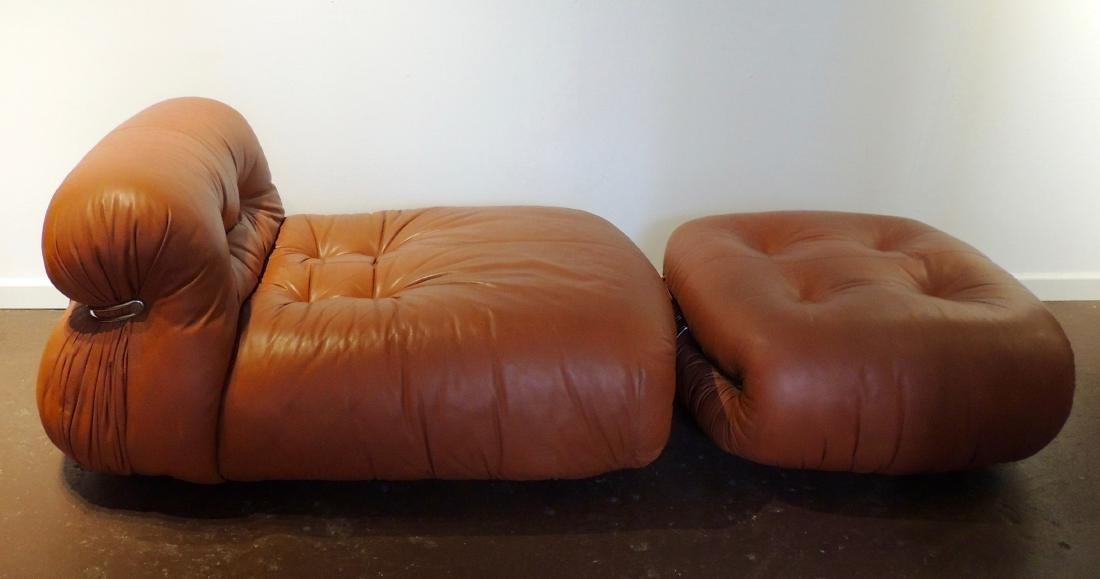 Afra & Tobia Scarpa Soriana lounge Chair & Ottoman - 4