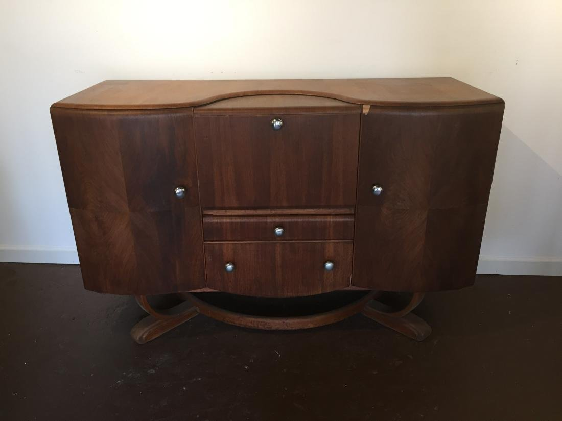 Mid-Century Art-Deco Cocktail Bar
