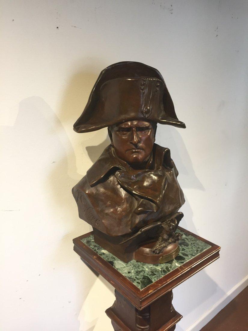 Napoleon Bonaparte Bronze Bust by Renzo Colombo