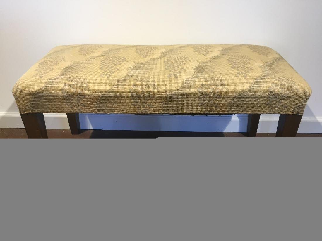 Needlepoint Bench Seat
