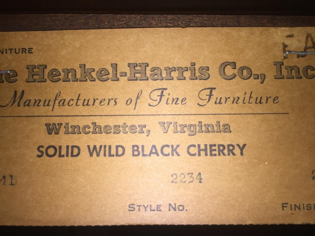 Henkel-Harris Drop Leaf Solid Wild Black Cherry Dining - 5