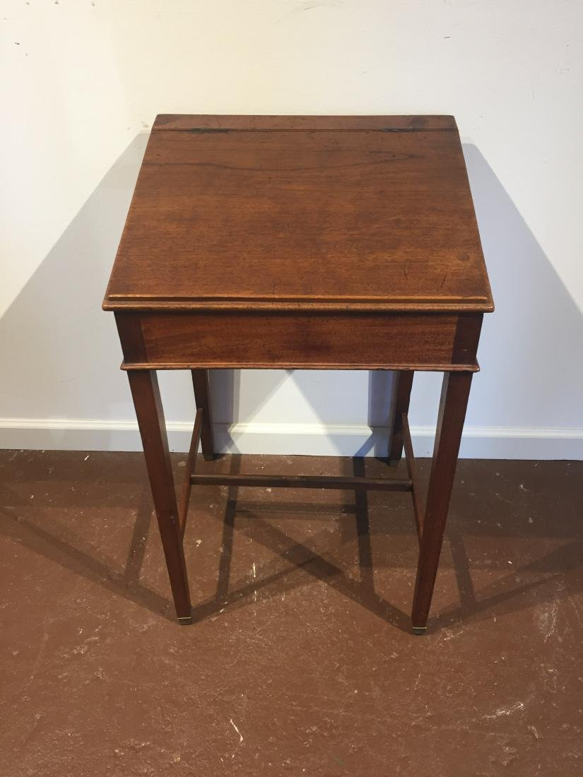 19th Century American Mahogany Child's School Desk