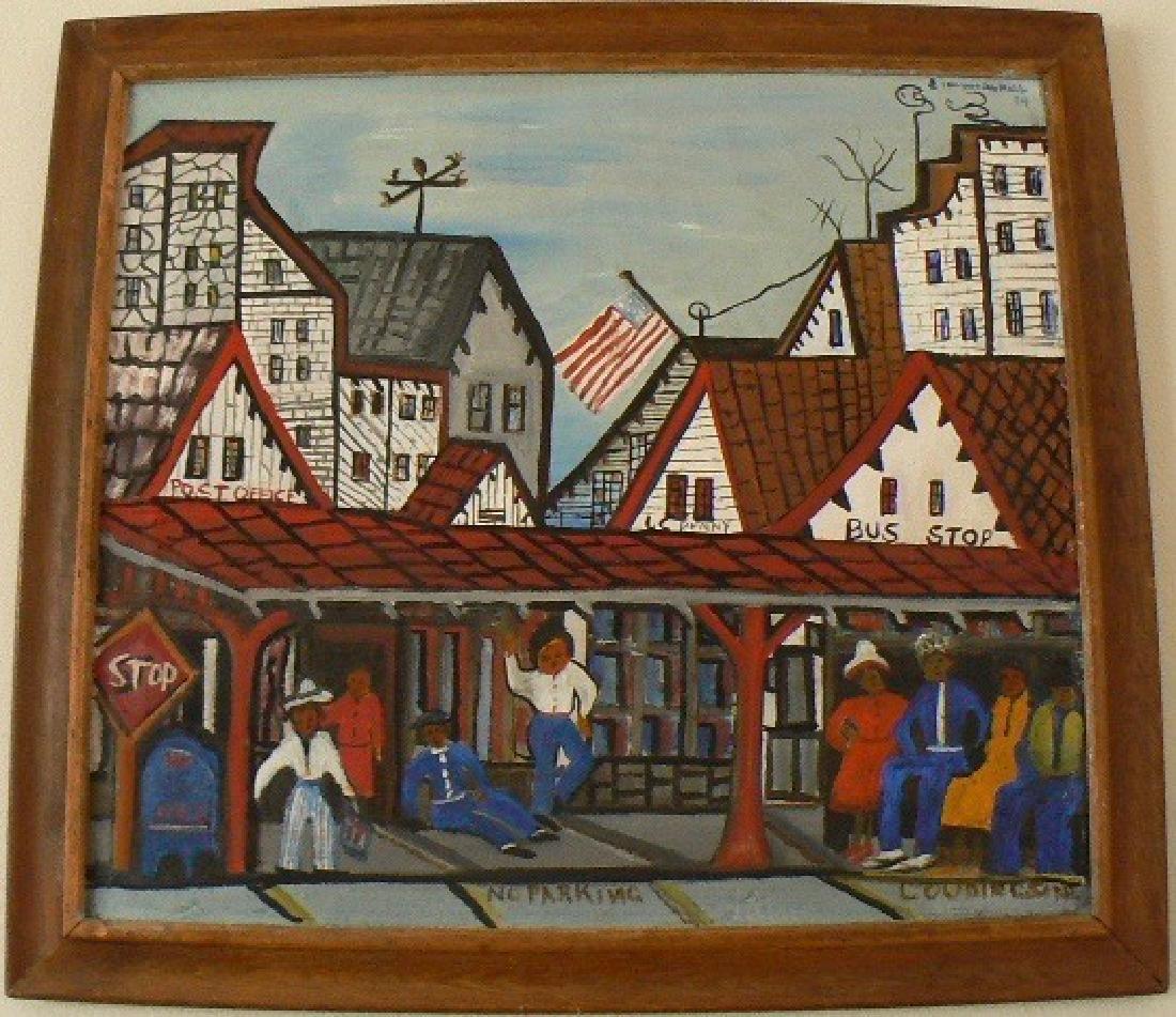 Emma Lee Moss - Original Oil on Canvas Painting