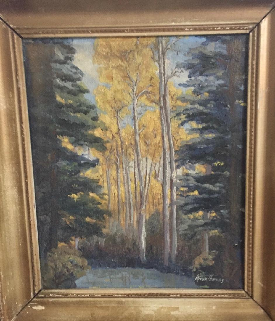 Knox Thomas Original landscape Oil painting