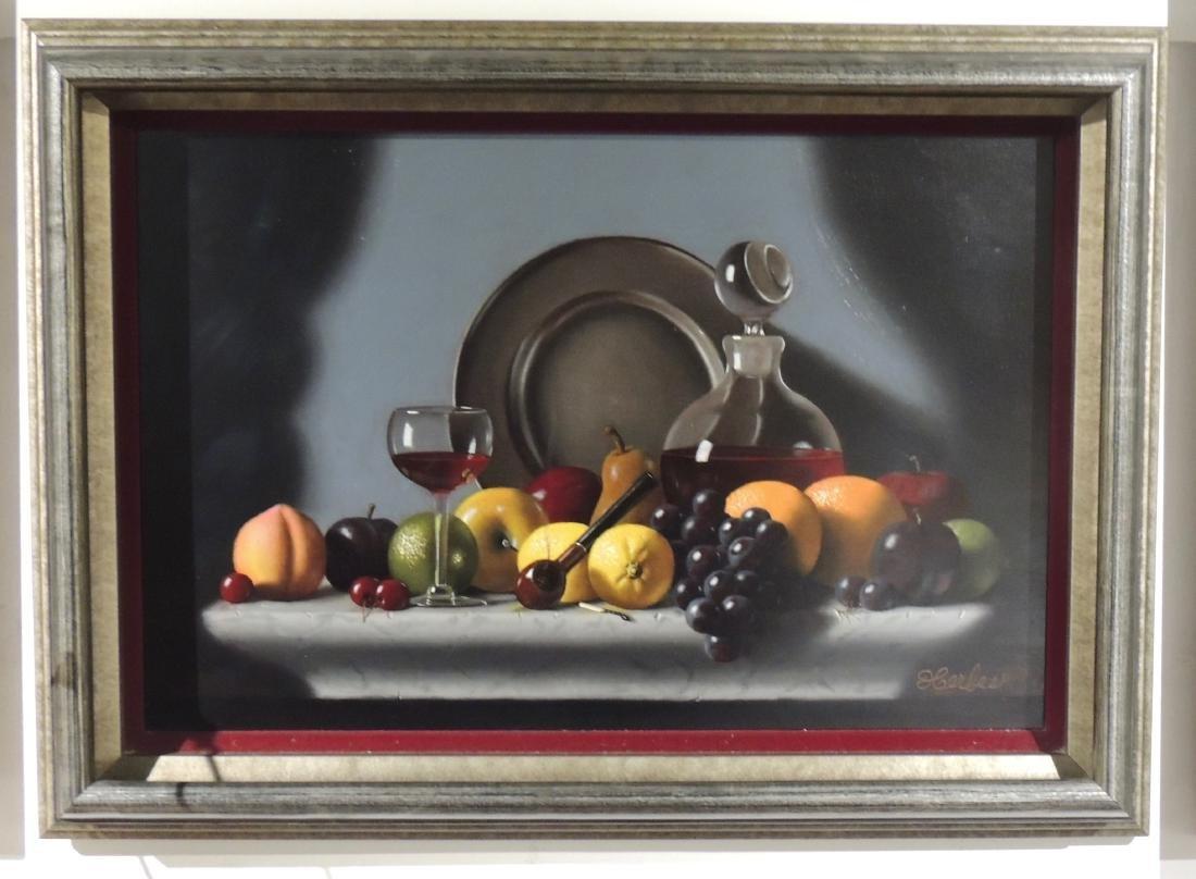 Edward A Herbes - Texas Artist Oil Painting