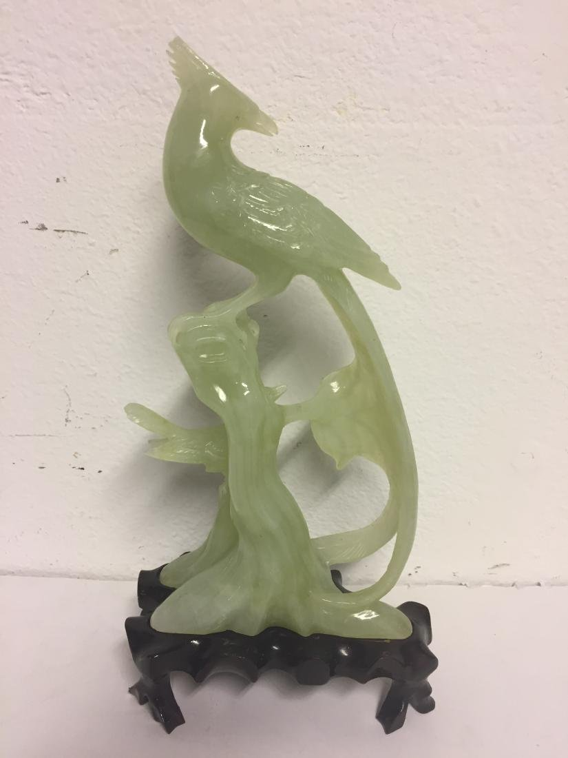 Jade carving of Birds