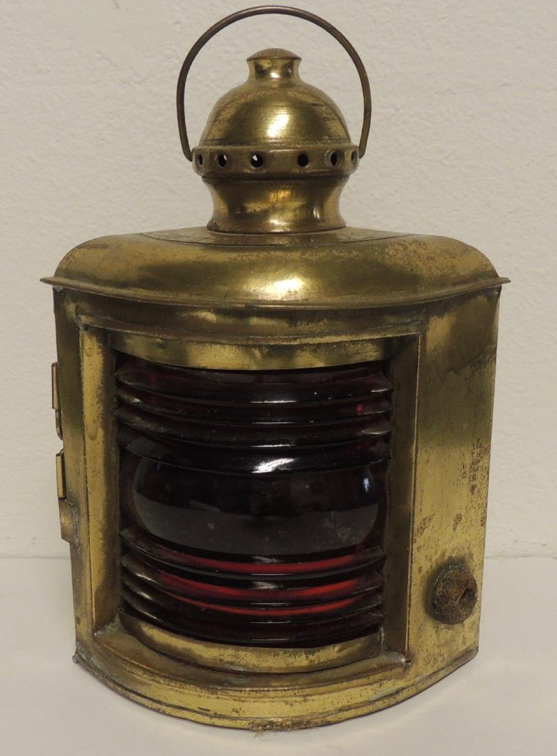 Nautical Starboard Classes New York Brass Lantern