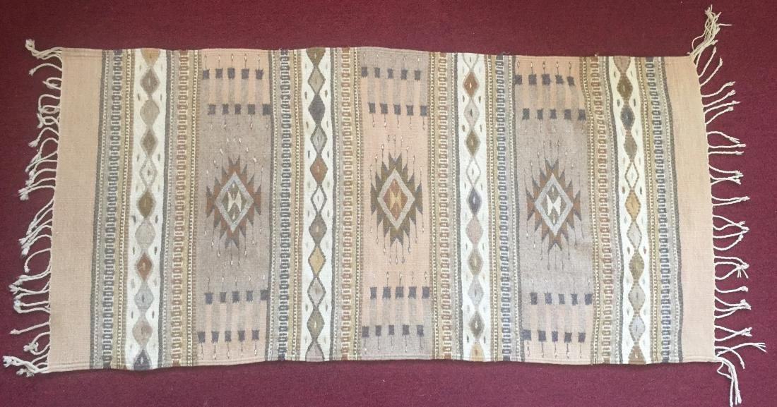Navajo Indian Rug 62 x 30.5 - 2