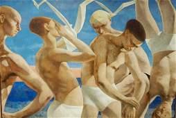 John Nathaniel Fenton - 1912-1977 - Frieze of Swimmers