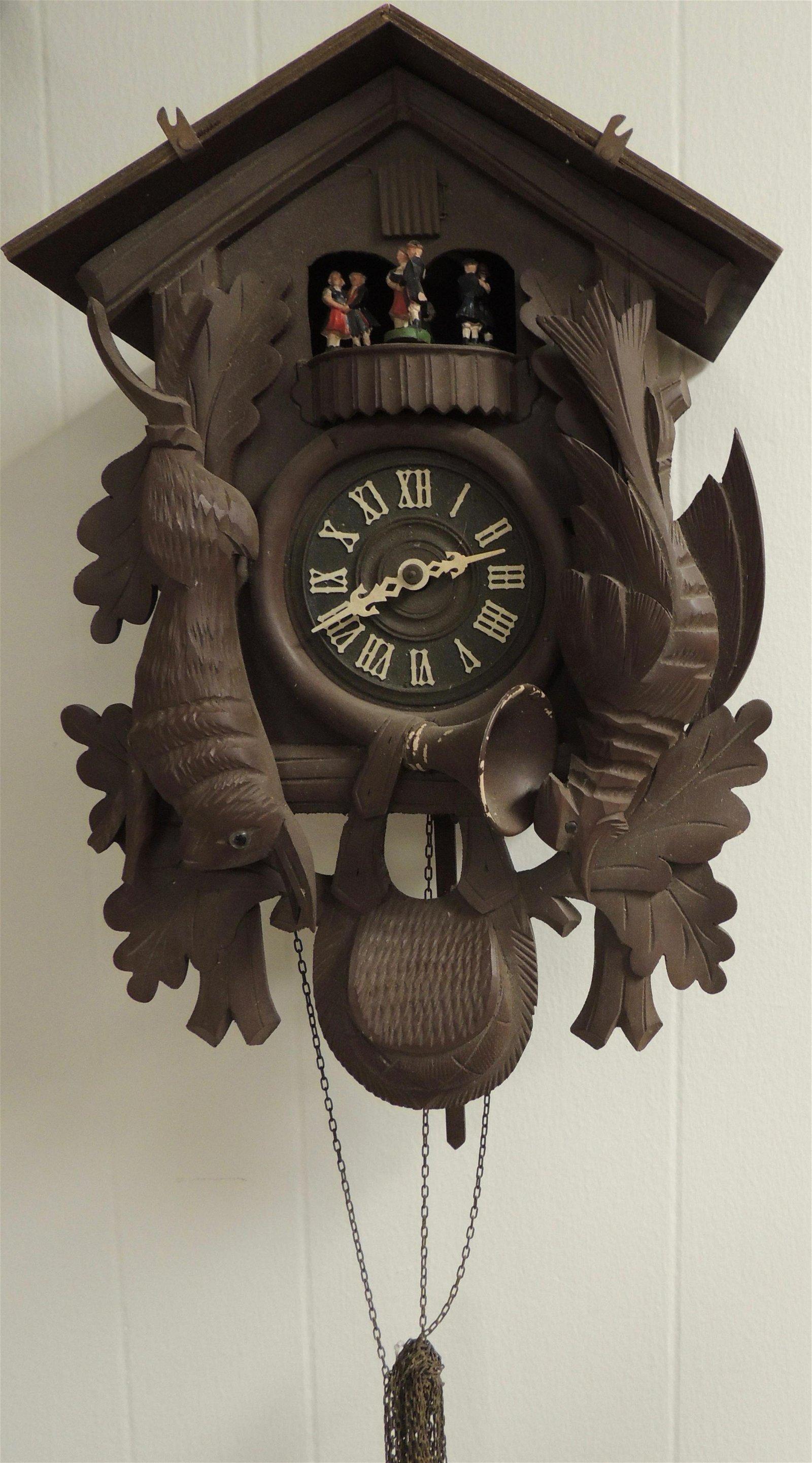 Vintage Black Forest Musical Cuckoo Clock