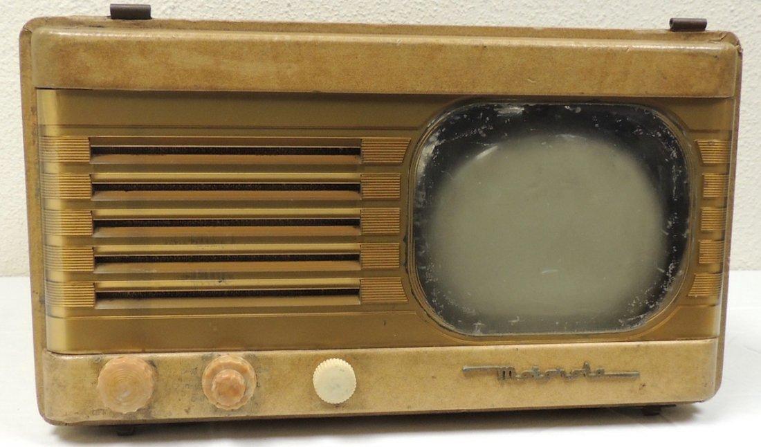 Vintage 1948 Motorola Portable TV