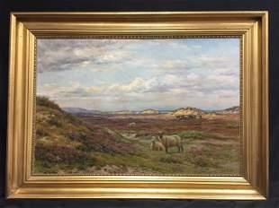Carl Emil Lund - 1855-1928 - Oil on Canvas