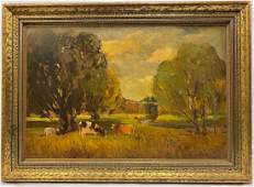 Thomas John Mitchell Painting  Oil on Canvas